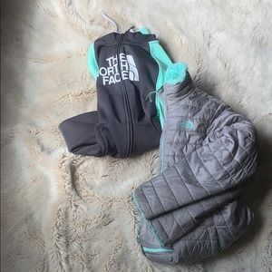2PC NORTH-FACE JACKETS
